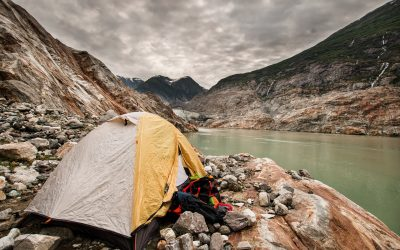 Photo Friday: Camping in Tracy Arm Fjord