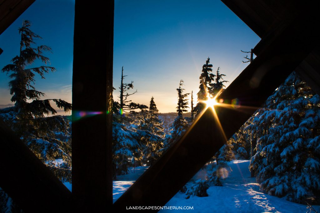 John Muir Cabin Sunset